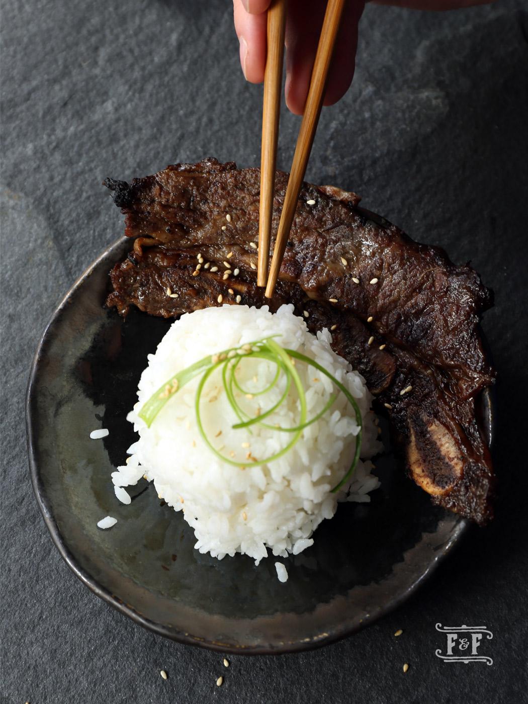 Galbi Korean BBQ Shortribs