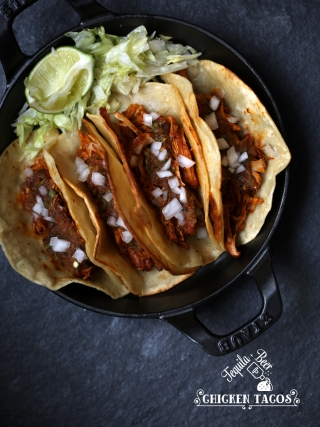 Tequila & Beer Chicken Tacos