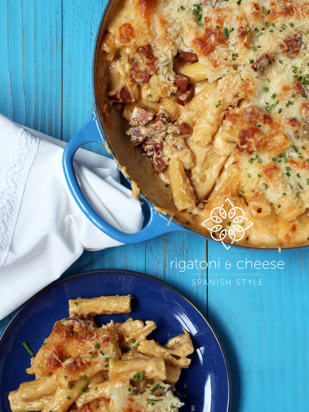 Rigatoni & Cheese Spanish Style