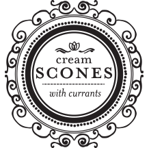 Cream Scones with Currants | Flavor and Friends