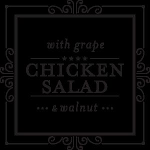 Grape and Walnut Chicken Salad