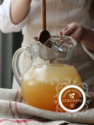 Lavender and Honey Lemonade