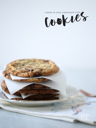 Layers of Love Chocolate Chip Cookies