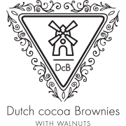 Dutch Cocoa Brownies with Walnuts