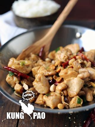 """Kapow"" Kung Pao Chicken"