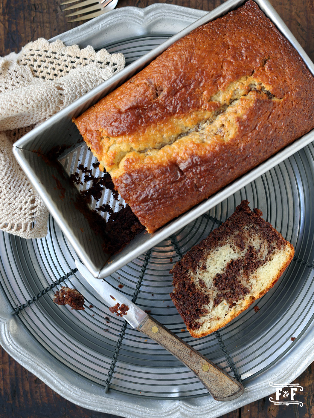 Lemon Chocolate EVOO Bread