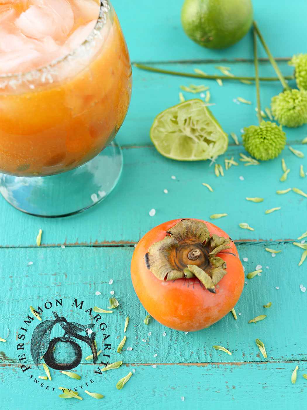 Persimmon Margarita | Flavor and Friends