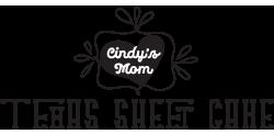 Cindy Mom Texas Sheet Cake