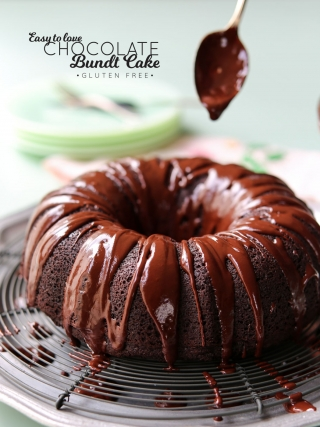 Easy to Love GF Chocolate Bundt Cake