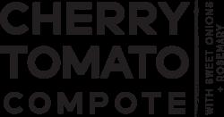 cherry tomato compote
