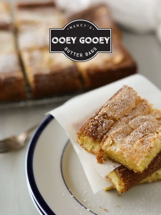 Nancy's Ooey Gooey Butter Bars